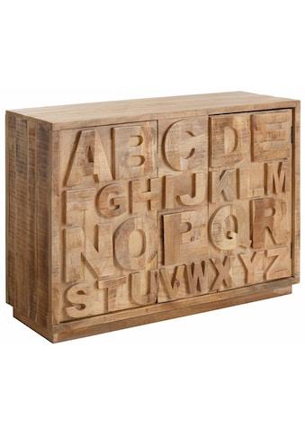 Home affaire Sideboard »ABC«, Breite 120 cm kaufen