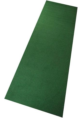 Living Line Kunstrasen »Rasenteppich, grün«, rechteckig, 8 mm Höhe, mit Noppen, In- und Outdoor geeignet, Meterware kaufen