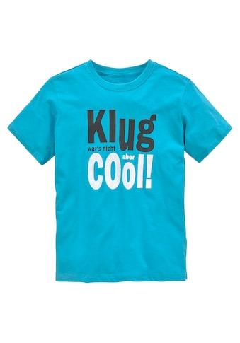 KIDSWORLD T-Shirt »KLUG WAR´S NICHT...ABER COOL« kaufen