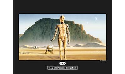 Komar Poster »Star Wars Classic RMQ Droids«, Star Wars kaufen