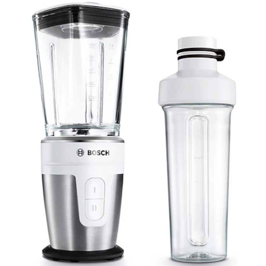 BOSCH Standmixer »VitaStyle Mixx2Go MMBM7G2M«, 350 W, mit ThermoSafe Glasbehälter (600 ml)