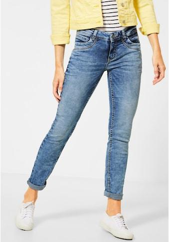 STREET ONE Comfort-fit-Jeans, mit dekorativen Nähten kaufen