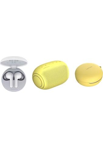 LG »FN4 Macaron Jellybean Hardbundle« In - Ear - Kopfhörer (Google Assistant, Siri) kaufen