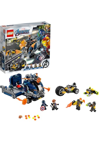 "LEGO® Konstruktionsspielsteine ""Avengers Truck - Festnahme (76143), LEGO® Marvel Super Heroes"", Kunststoff, (477 - tlg.) kaufen"