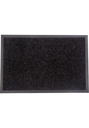 my home Fußmatte »Mette«, rechteckig, 5 mm Höhe, Fussabstreifer, Fussabtreter, Schmutzfangläufer, Schmutzfangmatte, Schmutzfangteppich, Schmutzmatte, Türmatte, Türvorleger, In- und Outdoor geeignet kaufen