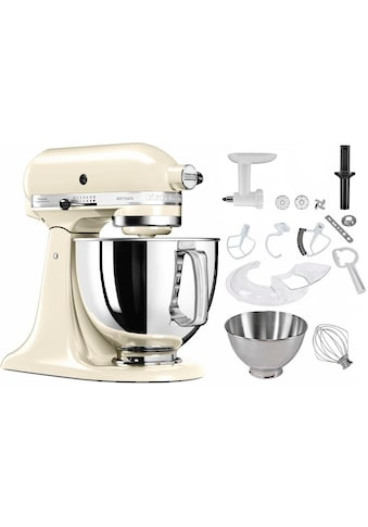 KitchenAid Küchenmaschine 5KSM125SEAC Artisan, 300 Watt, Schüssel 4,8 Liter kaufen