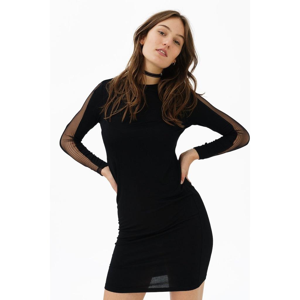 trueprodigy Partykleid »Amy«, in taillierter Form mit Mesh-Einsatz