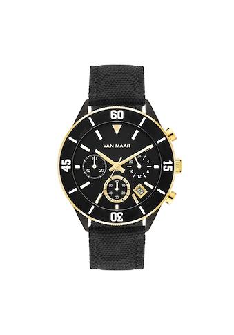 Van Maar Chronograph »VM017«, (1 tlg.), Armband aus Nylon/Echtleder kaufen