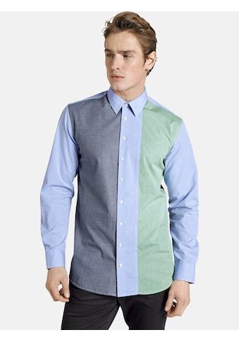 SHIRTMASTER Langarmhemd »frombluetogreen« kaufen