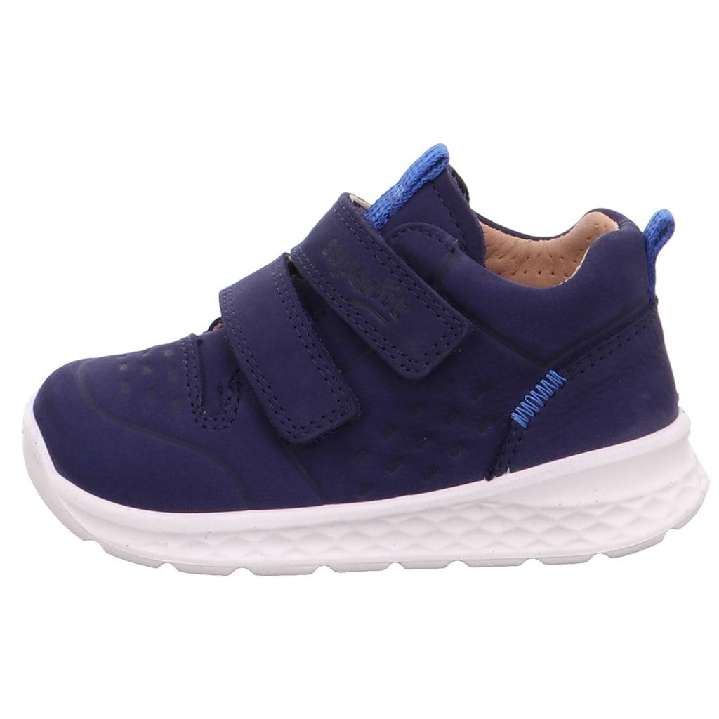 Superfit Sneaker »Breeze WMS Weiten-Messsystem: mittel«, mit praktischem Klettverschluss
