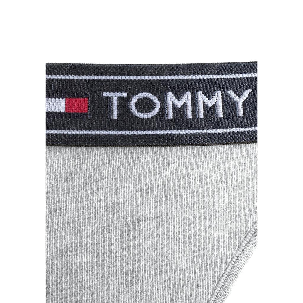 TOMMY HILFIGER Brasilslip, mit breitem Logobündchen