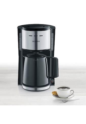 Severin Filterkaffeemaschine »KA 9251«, 1x4, mit Thermokanne kaufen