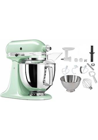 KitchenAid Küchenmaschine »5KSM175PSEPT Artisan«, 300 W, 4,83 l Schüssel, inkl.... kaufen