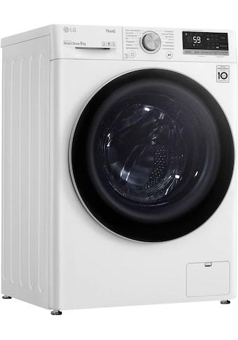 LG Waschmaschine »F4WV409S1B«, F4WV409S1B, 9 kg, 1400 U/min kaufen