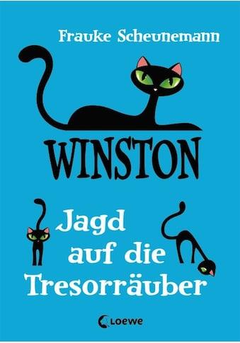 Buch »Winston - Jagd auf die Tresorräuber / Frauke Scheunemann« kaufen