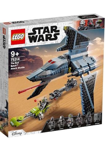 LEGO® Konstruktionsspielsteine »Angriffsshuttle aus The Bad Batch™ (75314), LEGO® Star... kaufen