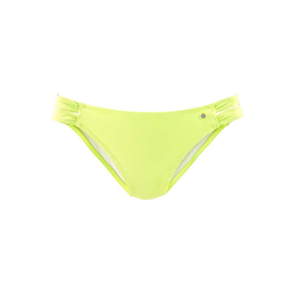 s.Oliver Bikini-Hose »Spain«, mit gerafften Seitenbändern