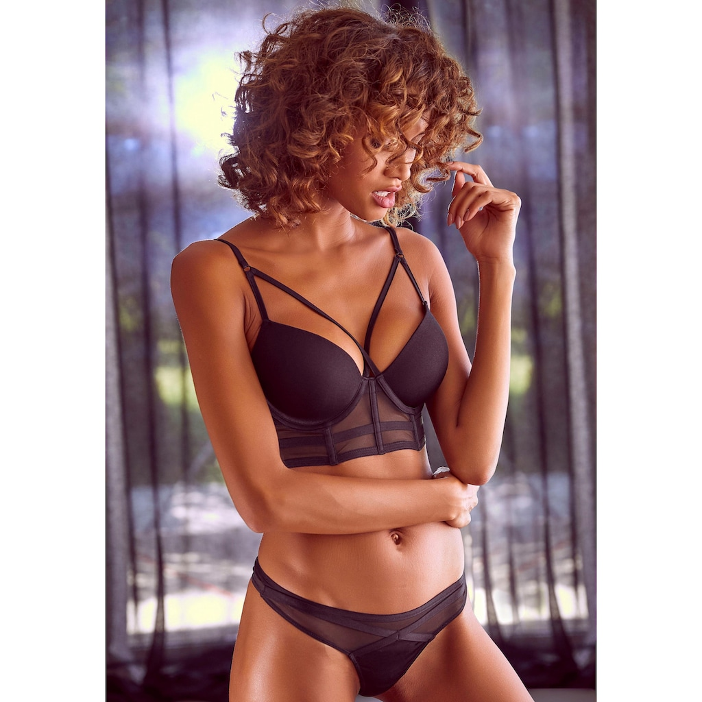 LASCANA Push-up-BH, in Bustier-Form
