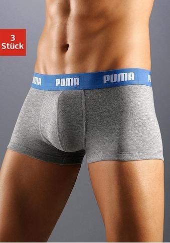 PUMA Hipster, (3 St.), mit Logoschriftzug auf breitem Bund kaufen