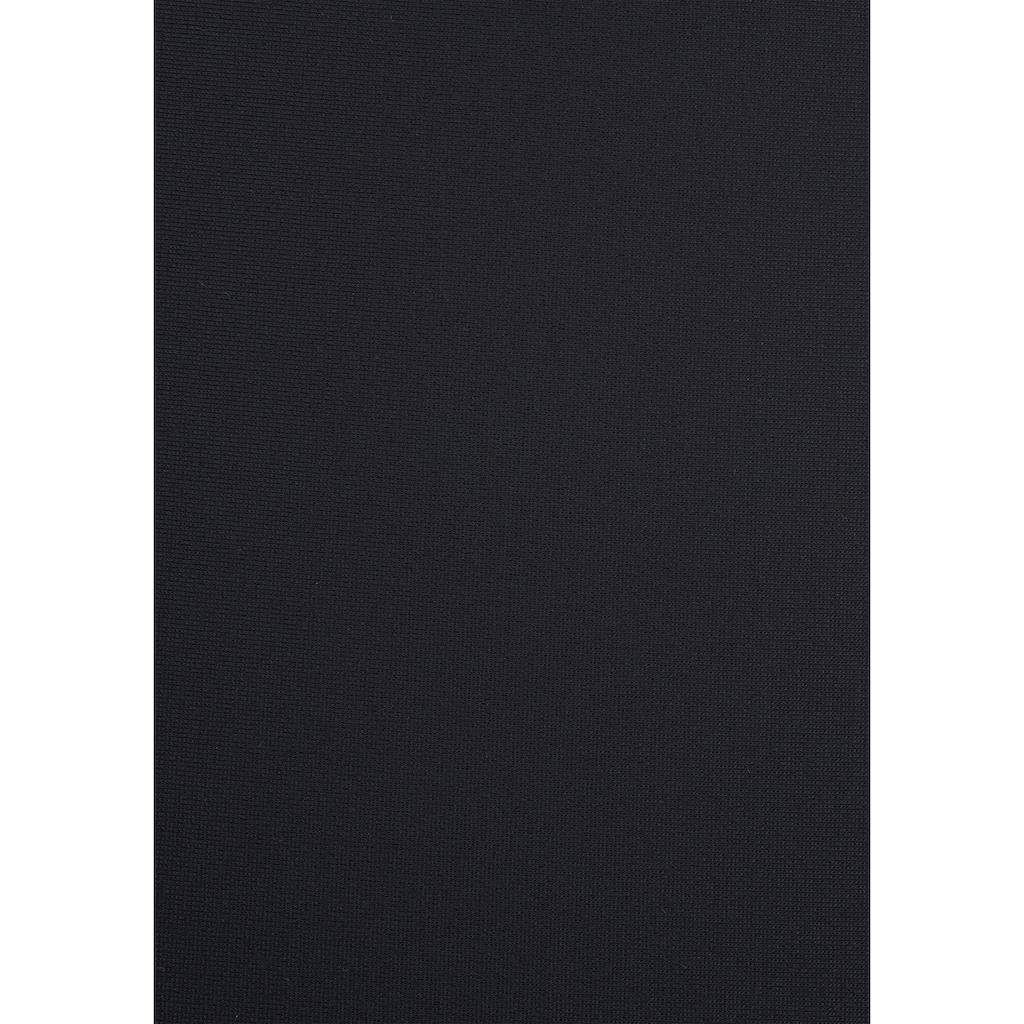 LASCANA Badeanzug, mit schwarz-weißen Kontrastdetails