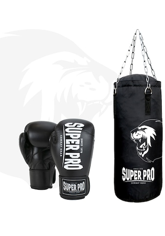 Super Pro Boxsack »Boxing Set Punch«, (Set, mit Boxhandschuhen) kaufen