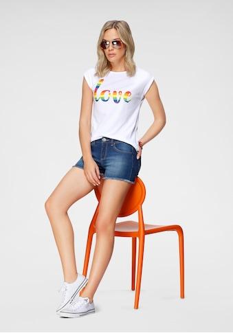 Flashlights T-Shirt »Pride Edition«, mit überschnittenen Schultern & kleinem... kaufen