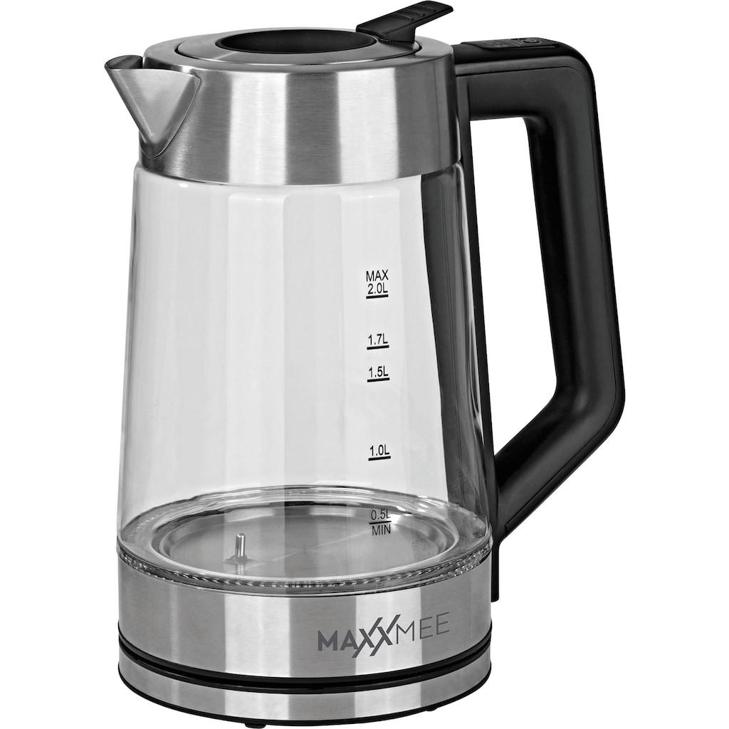 MAXXMEE Wasserkocher »Smart Deckel«, 2 l, 2200 W