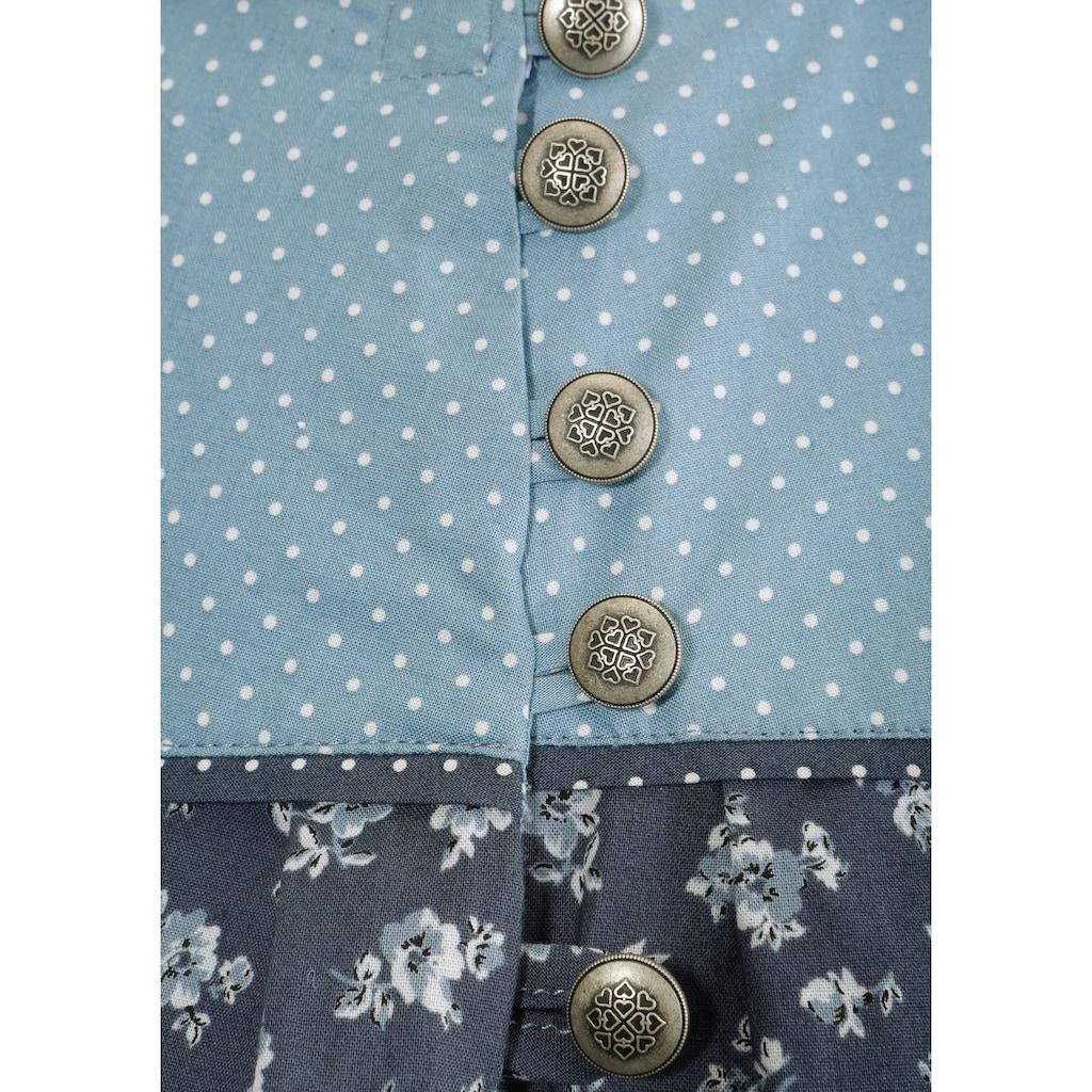 Naber Collection Trachtenrock, mit seitlichem Knopfverschluss
