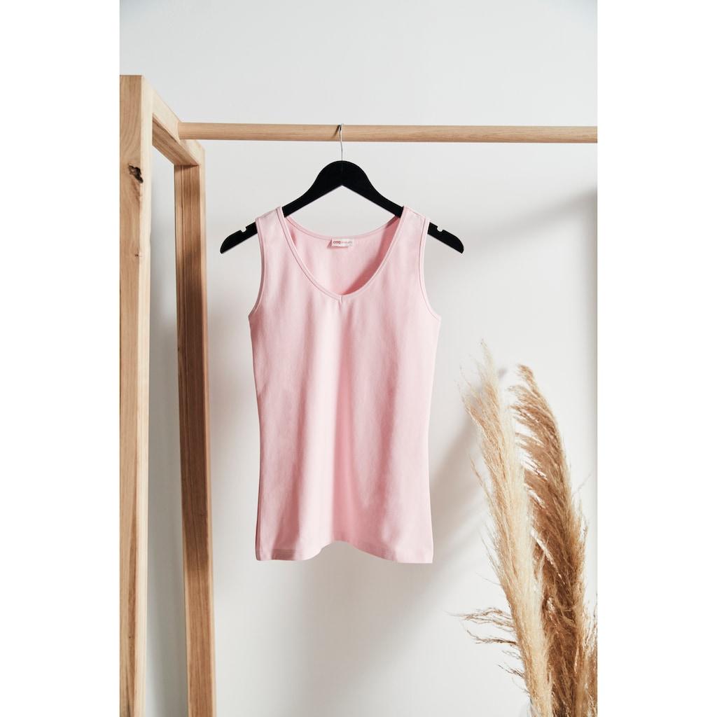 OTTO products Tanktop, nachhaltig aus zertifizierter Bio-Baumwolle