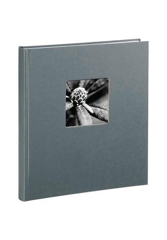 Hama Fotoalbum 29 x 32 cm, 50 Seiten, Album Fine Art, Grau kaufen