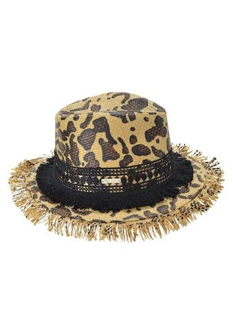 Seeberger Strohhut »Fedora mit Leopardenmuster 54681 - 0« kaufen