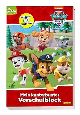 Buch »PAW Patrol: Mein kunterbunter Vorschulblock / Panini« kaufen