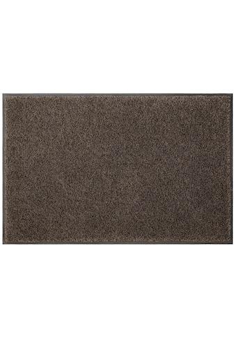my home Fußmatte »Ember«, rechteckig, 9 mm Höhe, Fussabstreifer, Fussabtreter,... kaufen