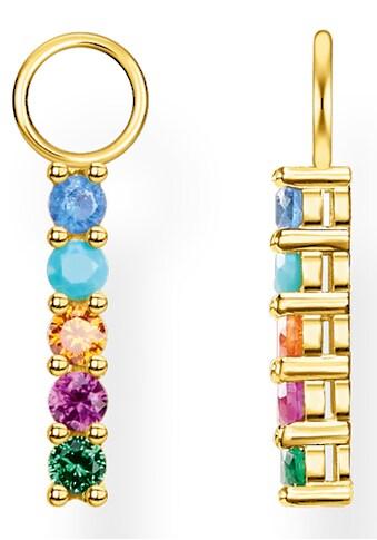 THOMAS SABO Einhänger für Ohrschmuck »farbige Steine, EP007-488-7«, mit Glassteinen,... kaufen