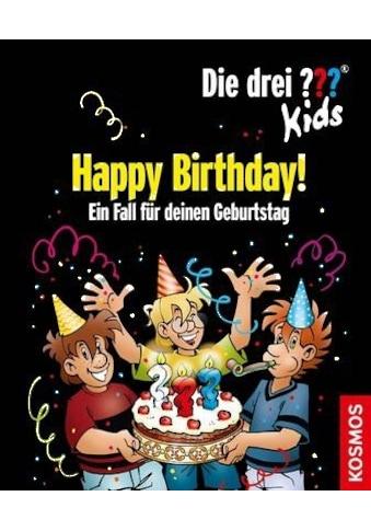 Buch »Die drei ??? Kids, Happy Birthday! / Boris Pfeiffer« kaufen