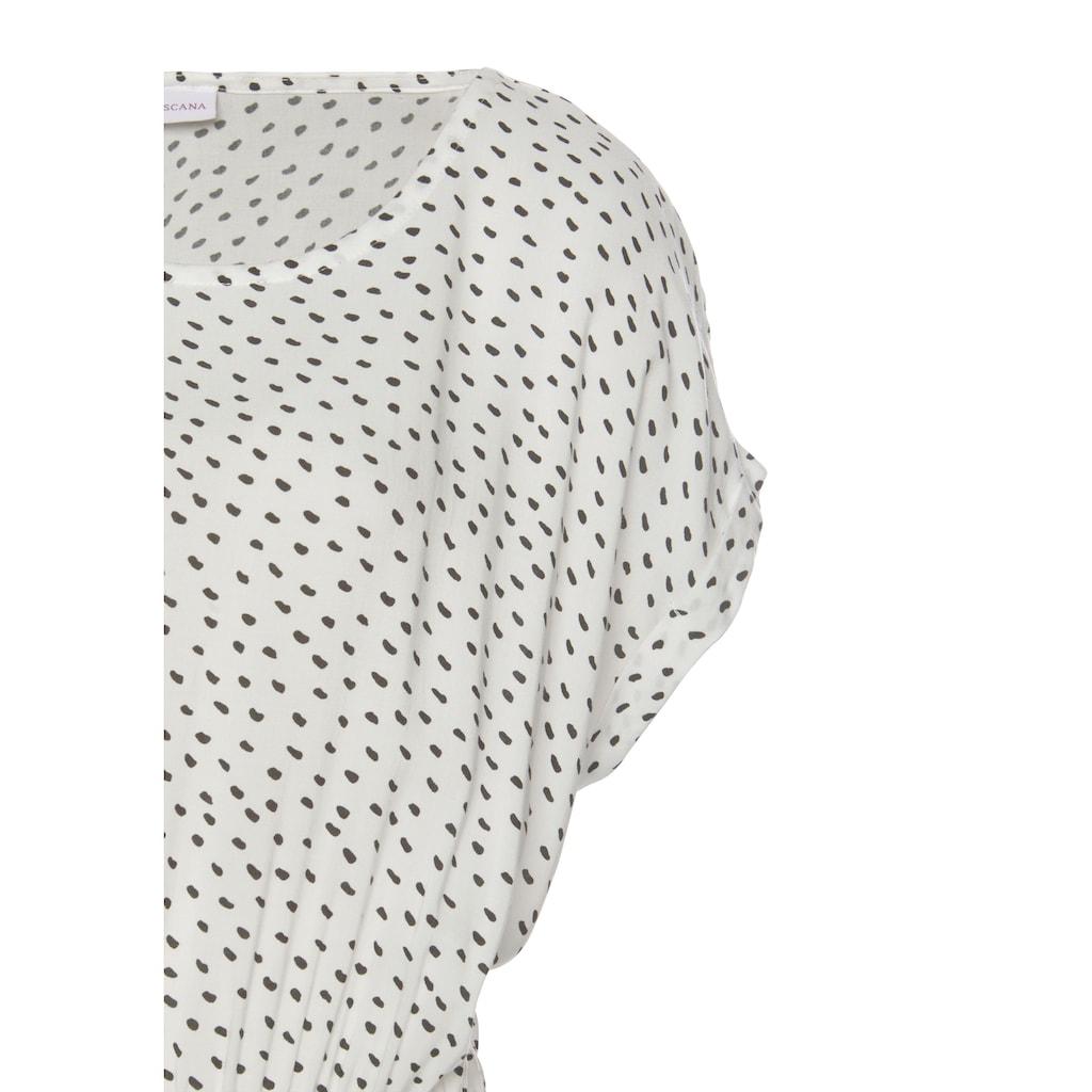 LASCANA Druckkleid, mit Püncktendruck