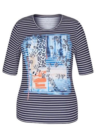 Rabe Print-Shirt, mit Nieten und gestreiftem Front-Print kaufen