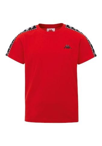 Kappa T-Shirt »ILYAS«, mit hochwertigem Jacquard Logoband an den &Auml;rmeln<br /> kaufen