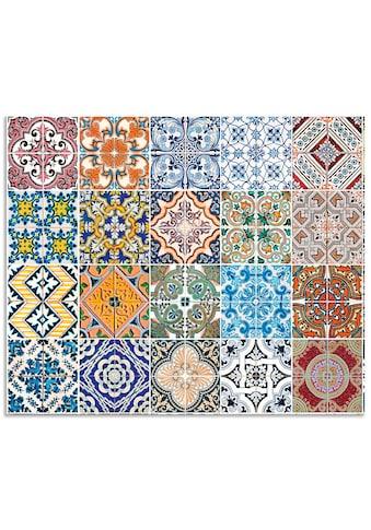Artland Küchenrückwand »Gemusterte Keramikfliesen« kaufen