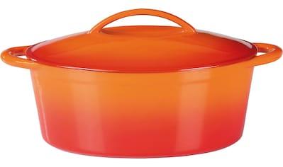 GSW Bräter »Orange Shadow«, Gusseisen, (1 tlg.), 7 Liter, Induktion kaufen