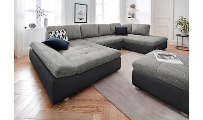 sit&more Wohnlandschaft »Fabona«, wahlweise mit Bettfunktion, Bettkasten und Armteilfunktion kaufen
