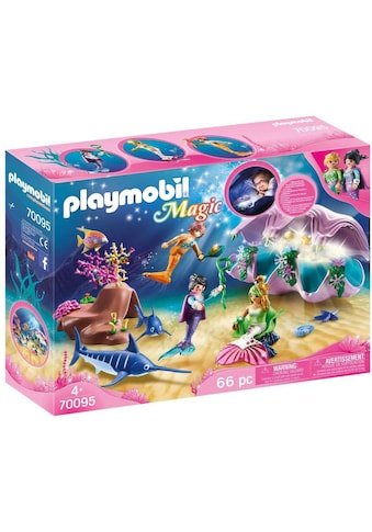 """Playmobil® Konstruktions - Spielset """"Nachtlicht """"Perlenmuschel"""" (70095), Magic"""", Kunststoff kaufen"""