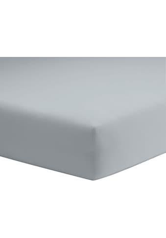 Spannbettlaken »Microfaser - Feininterlock«, Schlafgut kaufen