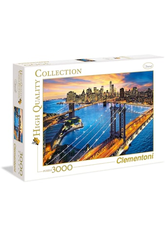 Clementoni® Puzzle »High Quality Collection - New York«, Made in Europe kaufen
