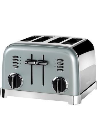 Cuisinart Toaster »CPT180GE«, für 4 Scheiben, 1800 W, mit 6 Bräunungsstufen und... kaufen