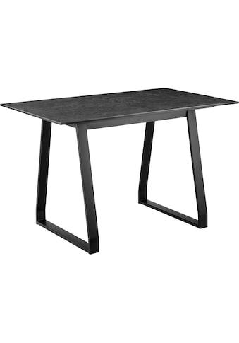 COUCH♥ Esstisch »Tafelfreude«, Tischplatte aus Keramik und Glas kaufen