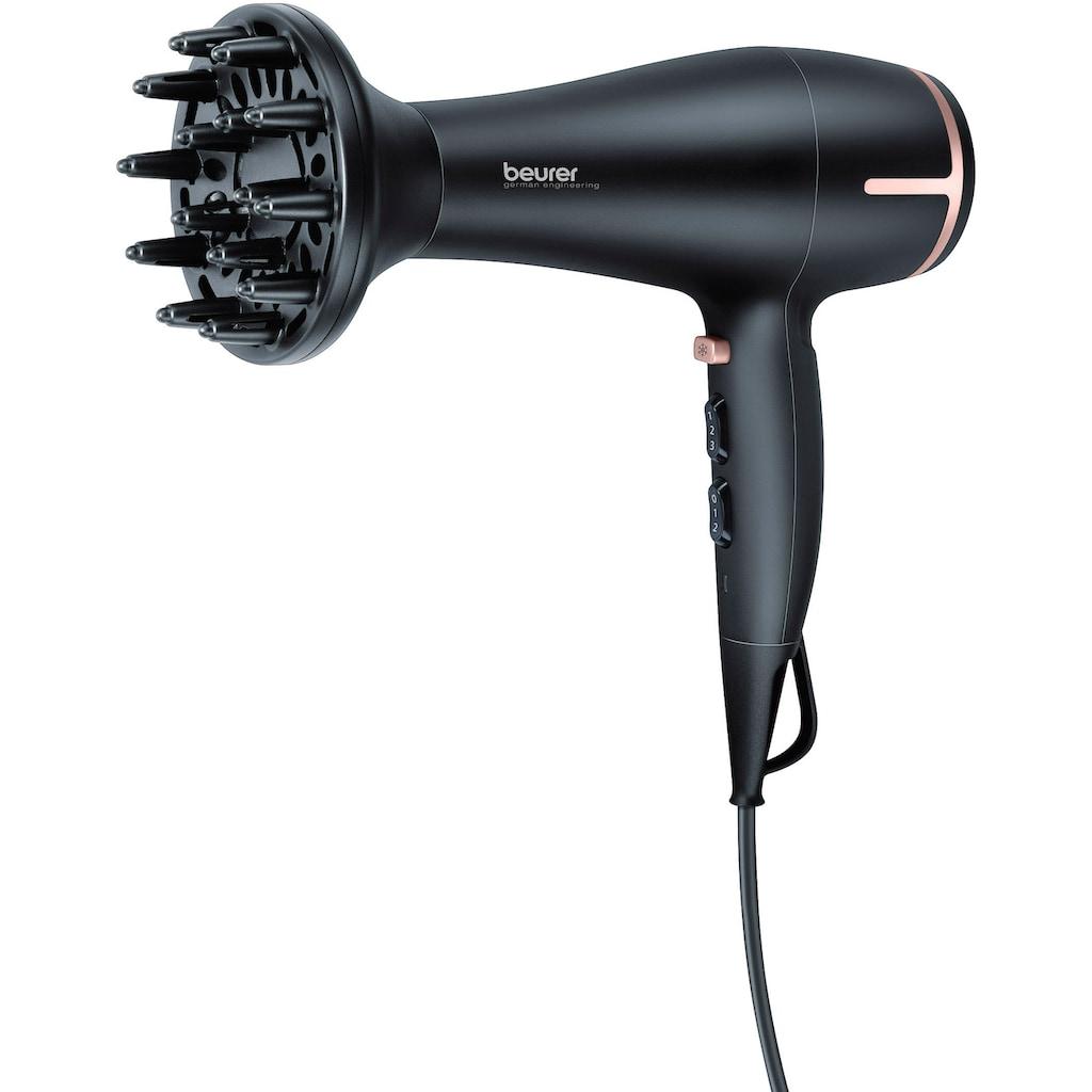 BEURER Haartrockner »HC 60«, 2 Aufsätze