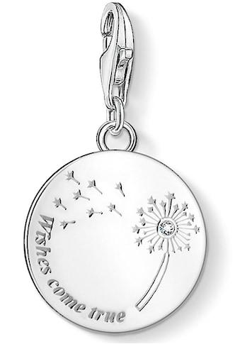 THOMAS SABO Charm-Einhänger »Pusteblume WISHES COME TRUE, 1457-051-21«, (1 tlg.), mit Zirkonia kaufen