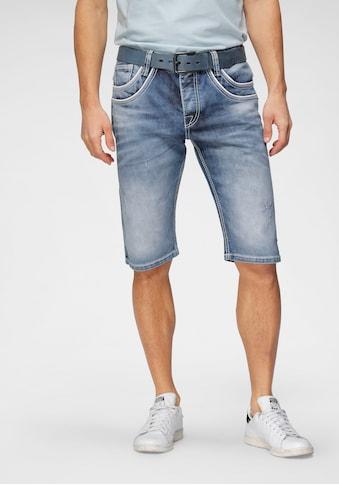 Cipo & Baxx Shorts, mit Paspelierung kaufen