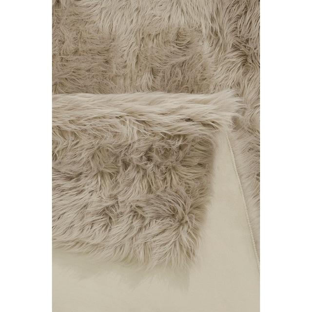 Hochflor-Teppich, »Dena«, Home affaire, rechteckig, Höhe 60 mm, maschinell getuftet